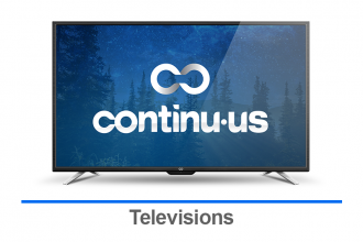 Continu.us Televisions